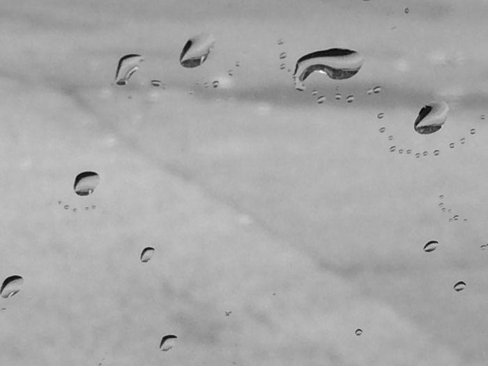 Water Barcelonalove Catalunyalove Black & White Rain