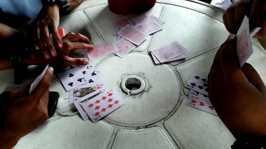 deck down Gambling Chip Cards Chance Friend