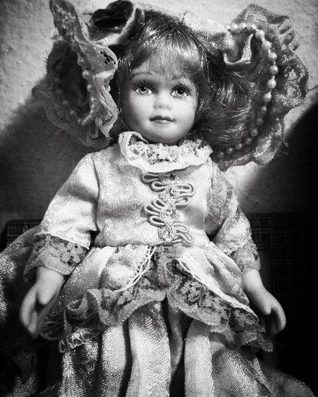 Vintage Vintage Doll Creepy Odd