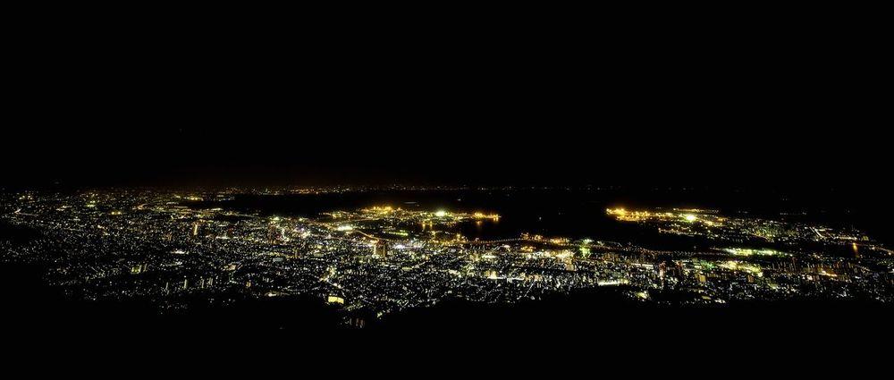 Night View I Love My City Kobe Night View Mt.Rokko Kobe Japan Canon5Dmk3 Zeiss Distagon 2.8/15 ZE