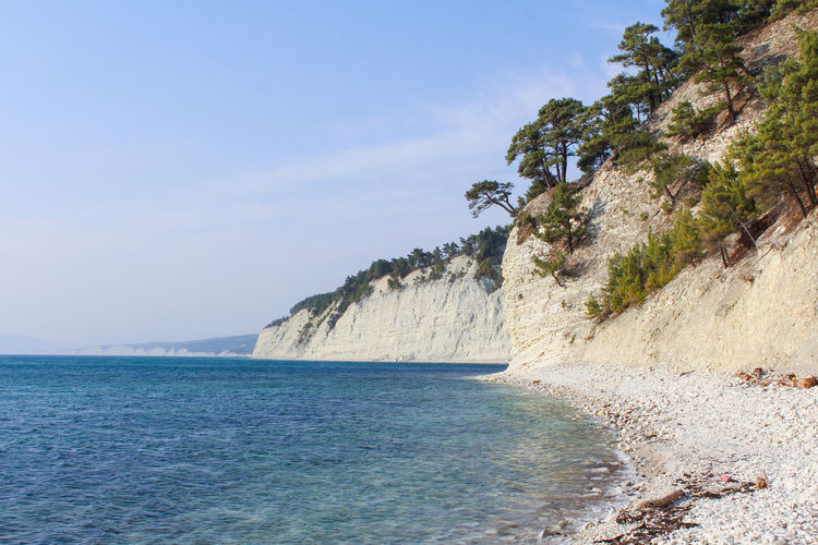 Beach Beautiful View Beauty In Nature Blue Blue Sea Colors Colors Of Nature Day Landscape Mountain Nature Nautical No People Outdoors Paysage Pine Tree Pines Russia Russian Nature Sea Seascape Sky Trees Water Waterscape Been There.