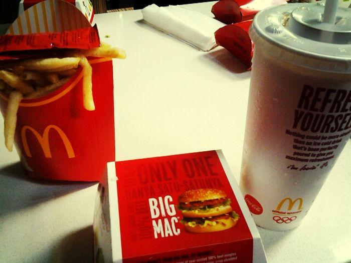Mac Donald Big Mac Mac Dinner :)