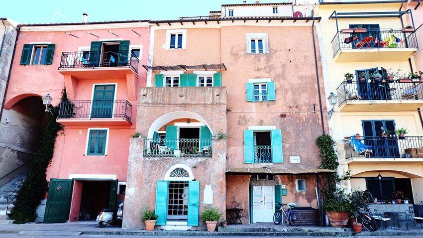 Porto Ercole, Toscana agosto 2016 Toscana Porto Ercole Argentario Italy Building Exterior Architecture Built Structure Window City Outdoors No People Day