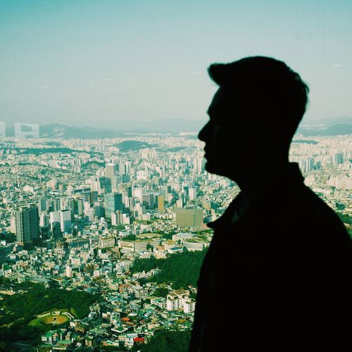 My point of view Seoul Tourist Silhouette Landscape Day City Weekendchallenge Namsan Tower  Travel Destinations Mensfashion Sky City View  Done That.