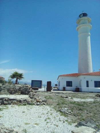 Architecture Built Structure Outdoors Day Building Exterior No People Sky Lighthouse Clear Sky Nature Spain♥ Sunshine ☀ Nice Weather Vacations Big Screen