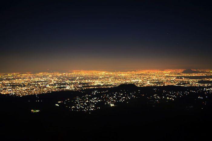 Ajusco Cdmx City Landscape Mexico City Montains    Night Outdoors Sky