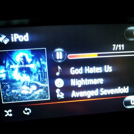 Still in my playlist A7x Forever
