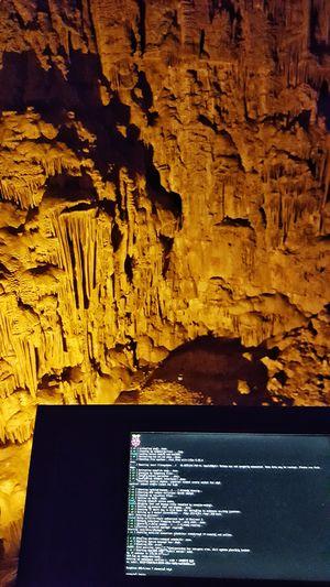 Cave Gruta Raspberry Pi cave tech