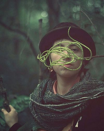Portrait Portrait Of A Woman Amateurphotography Mariana In The Forest Cloudy Cloudy Day Color Portrait Face Hipster Mexico Veracruz Xalapa