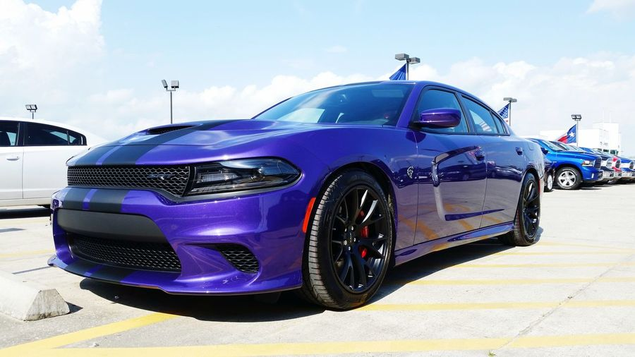 Car Sky No People Day Outdoors Close-up Chargersrt Hellcat Purple Photo Photography Freshness EyeEmNewHere EyeEm Follow4follow #f4f #followme #TagsForLikes #TFLers Awesome Backgrounds Landscape Full Frame