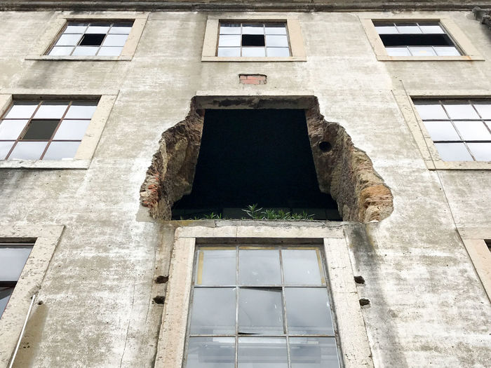 Architecture Building Exterior Built Structure Day Low Angle View Lx Factory No People Outdoors Window