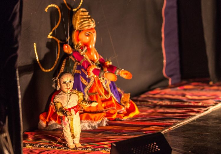 Puppet show in india