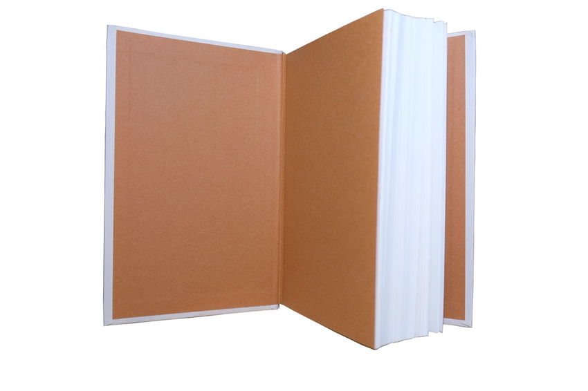 book on white background Book Collections Books Isolated Blank Book Book Book Brown Paper Close-up Education Empty Isolated On White Isolated White Background Page Pages Pages Of A Book Paper White Background