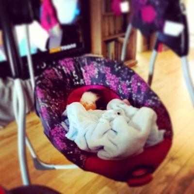 That's my baby. 13 days old. :D MyBOO Princesskairi Jazzyfresh Mommyslilgirl 13daysold instababies instagram clarksvilletn sleepingbeauty