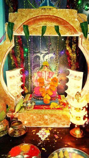 Indoors  Lord GaneshaCelebration Religion