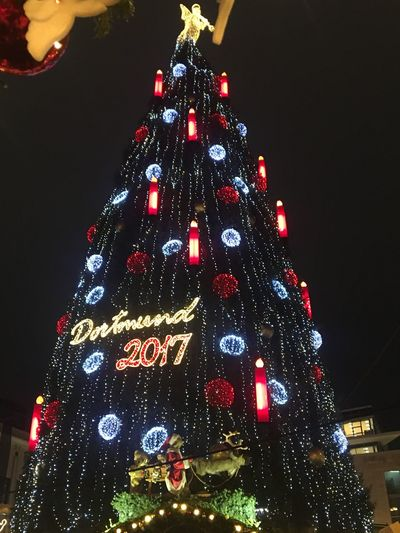 Christmas Tree, Christmas Tree Illuminated Night Christmas Lights Tree Topper Tradition Christmas Ornament Indoors  Vacations