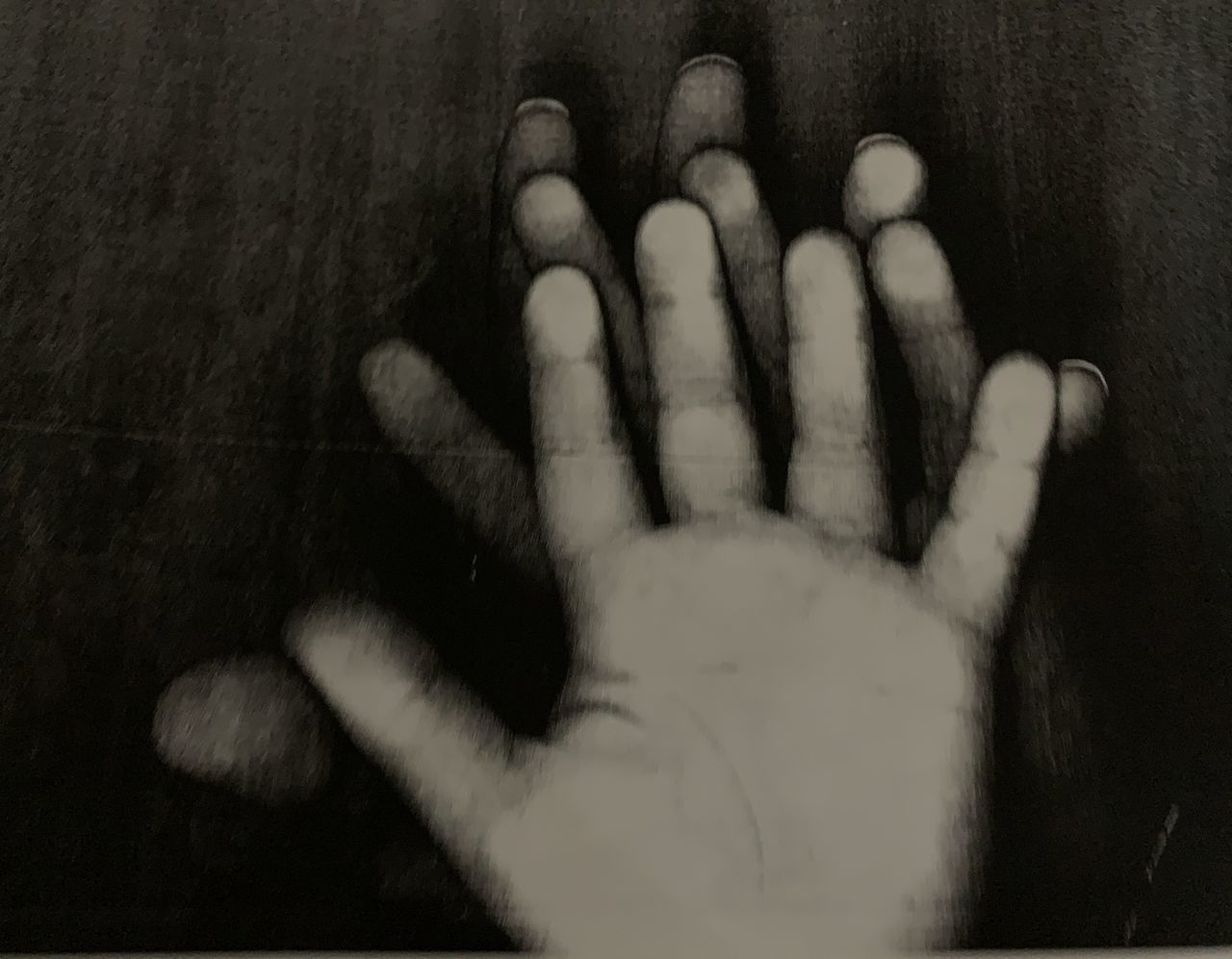 CLOSE-UP OF HANDS ON HUMAN FINGER