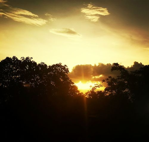 吳哥窟的夕陽