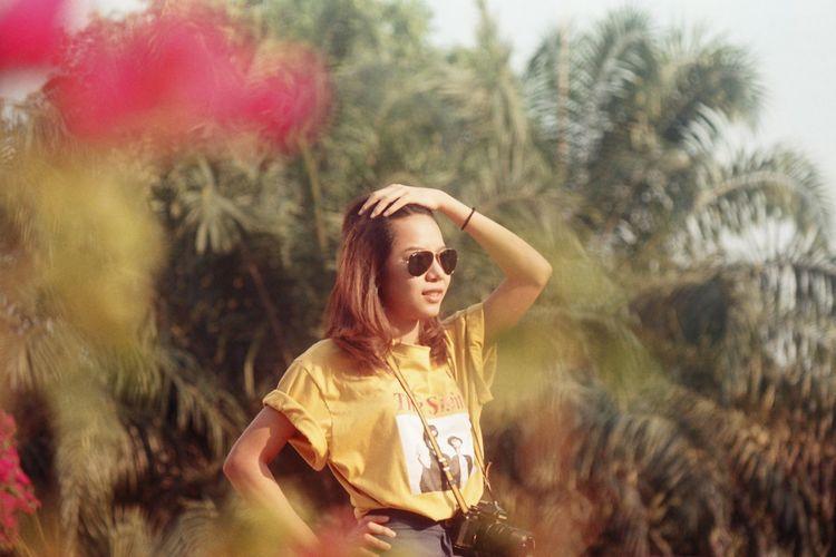 little girl. CanonAE-1 Kodak Ultramax 400 Ishootfilm Filmcamera Film Photography Portrait Women