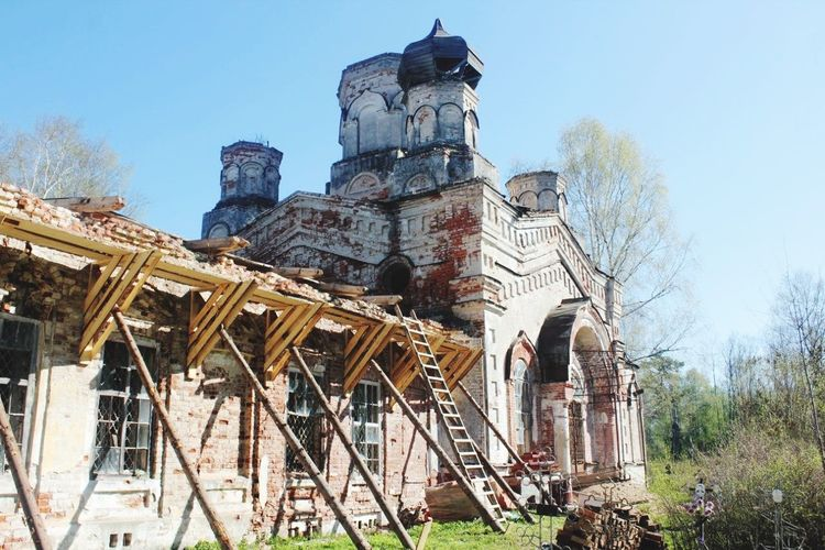 Pravdino Cemetery Cathedral Reconstruction Destroy Russian Death