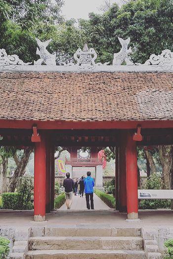 Lsc_hanoi Winter 2018_temple Of Literature_doorway Temple Of Literature Temple Of Confucius 1070-1779 Architecture Hanoi Architecture Hanoi Holiday With Sharon