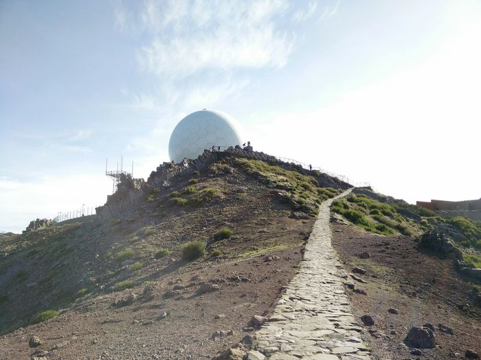 Madeira Madeira Island Pico Do Arieiro Portugal December 2015 Hiking