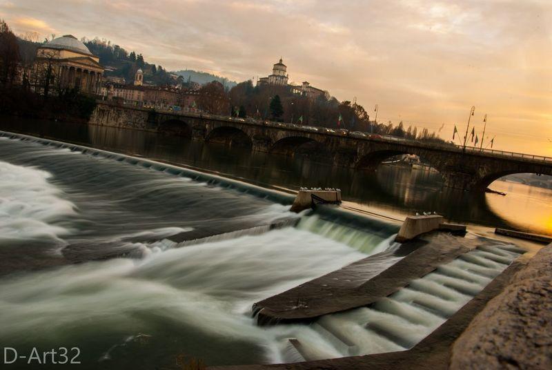 Long Exposure River #sunset Silk Effect Donnieart Nikon D200 Lens The Architect - 2017 EyeEm Awards