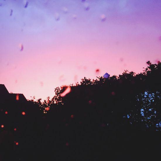 Orage Ciel Sous La Pluie