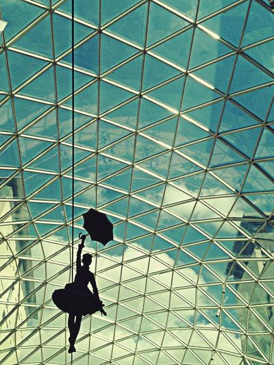 Mary Poppins Eurovea Geometric Shapes In The Terminal Resist