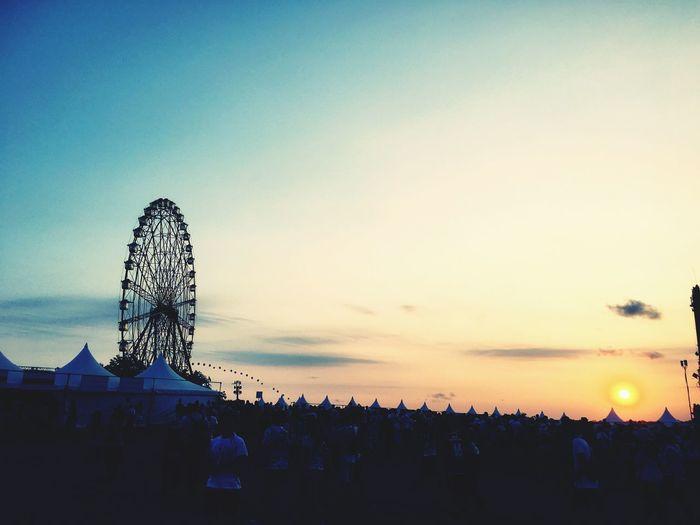 ロッキンジャパン ロッキン ロッキンジャパン ロッキンジャパン2016 Live Music Festival Music Sky_collection Summer Views Sky_collection 観覧車