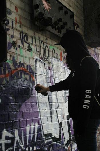 One Person Graffiti People Osnabrück Crimemember Alterbahnhof Verlassene Plätze Verlassenerbahnhof The Portraitist - 2017 EyeEm Awards