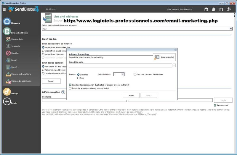 http://www.logiciels-professionnels.com/email-marketing.php