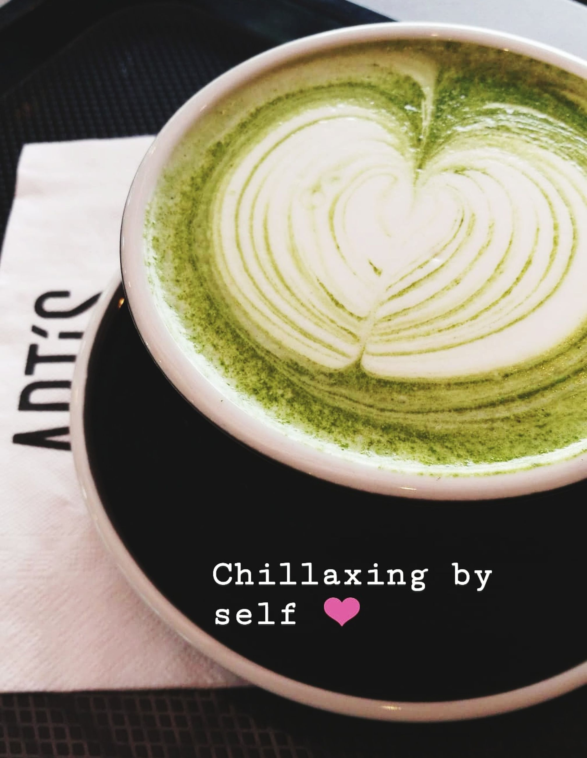 food and drink, refreshment, drink, coffee - drink, close-up, coffee, freshness, still life, cup, frothy drink, coffee cup, mug, no people, hot drink, food, indoors, matcha tea, high angle view, text, table, latte, non-alcoholic beverage
