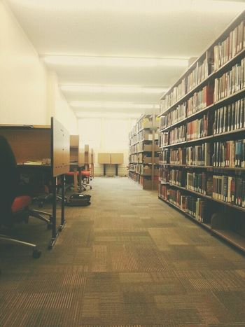 The Places I've Been Today Researching Library