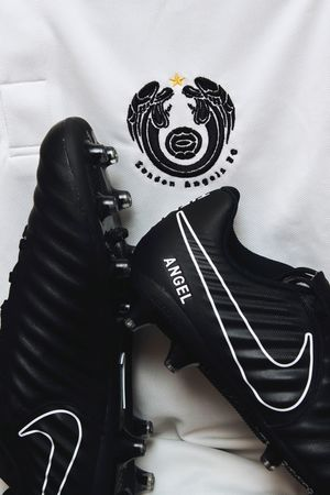 My Boots My Way. MyNIKEiDs Football Boots Football Tiempo Still Life Black Nike