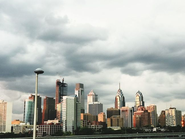 Cityscape Skyscraper Skyline Architecture City Urban Skyline Philadelphia Philly Travel Destinations Sky And Clouds Downtown District Modern Sky Cloud - Sky No People Sky_collection