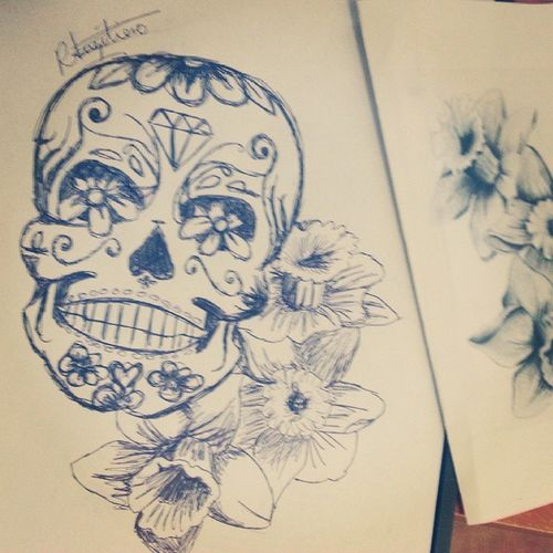Pumped this design out for the lovely Danchap96 Tattoo Tattoodesign