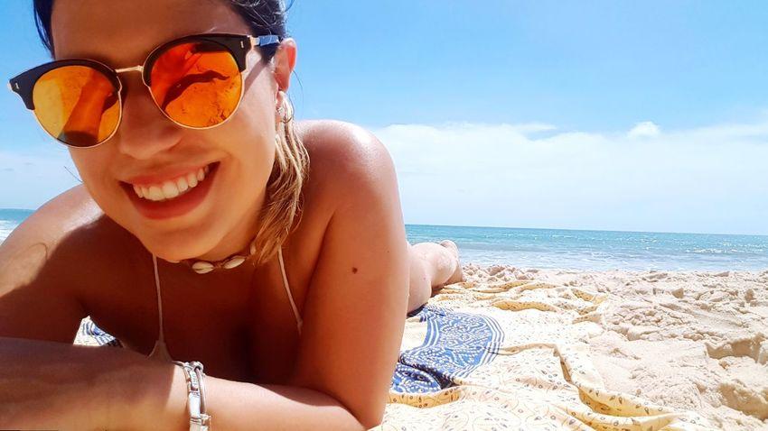 EyeEm Selects Portrait Sea Beach Happiness Smiling Looking At Camera Sand Summer Headshot Cheerful