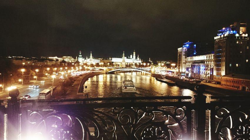 Night city Russia Moscow Night Beatiful View Nightmoscow Moscowriver Ilikeit Beautifulnight Autumn