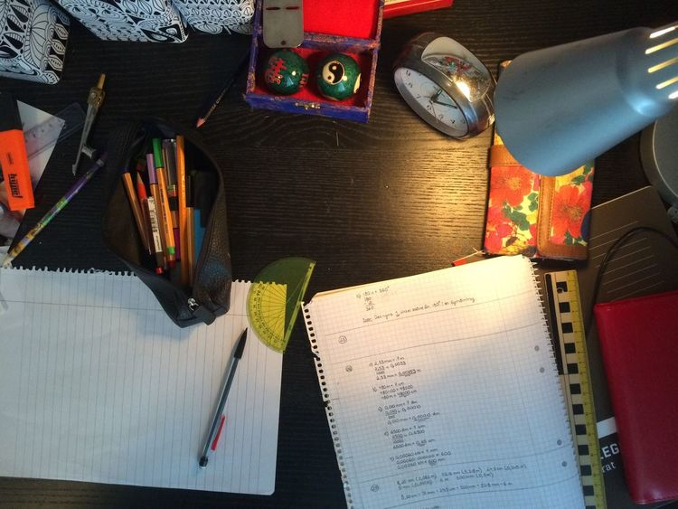 Desks From Above Check This Out Clock Paper NOT My Desk Pen Pencil At Home Rubber No People No Filter Kaos Light Light And Shadow Creative Light And Shadow