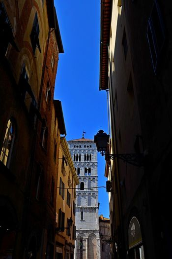 Lucca Italy Architecture Building Exterior Built Structure City Clear Sky Day Low Angle View No People Outdoors Sky Window