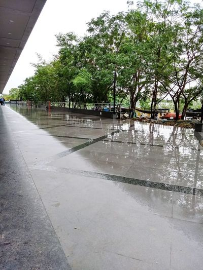 Rains! Water Wet Outdoors Day Reflection Lake Tree No People Sky Flood Nature Puddle City Live For The Story The Street Photographer - 2017 EyeEm Awards Out Of The Box The Great Outdoors - 2017 EyeEm Awards EyeEmNewHere The Architect - 2017 EyeEm Awards Breathing Space