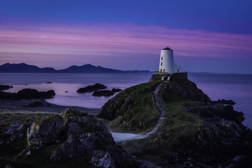 Twr Mawr Beauty In Nature Coastline Day Human Eye Lighthouse Nature Outdoors Rock - Object Sea Sky
