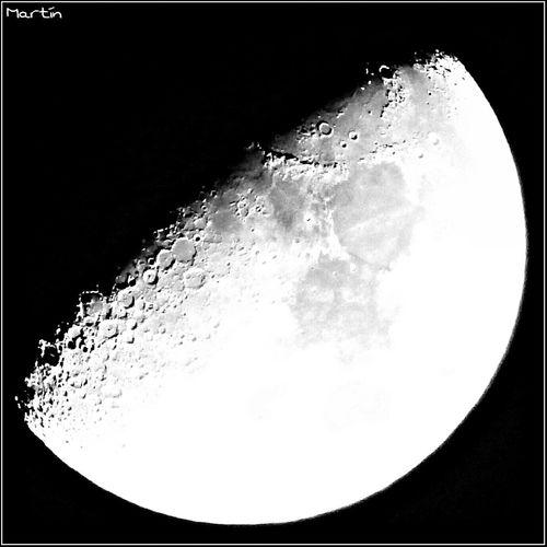 Media Luna de Diciembre B&w Photography Asturias Sl1000 Moon