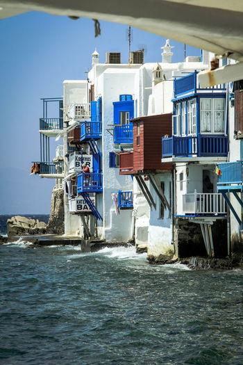 Architecture Built Structure Egeu Sea Greece Photos GREECE ♥♥ Little Venice In Mykonos Island Little Venice Mykonos Mykonos Mykonos Island Mykonos,Greece Mykonosbeach Sea Sea And Sky Water