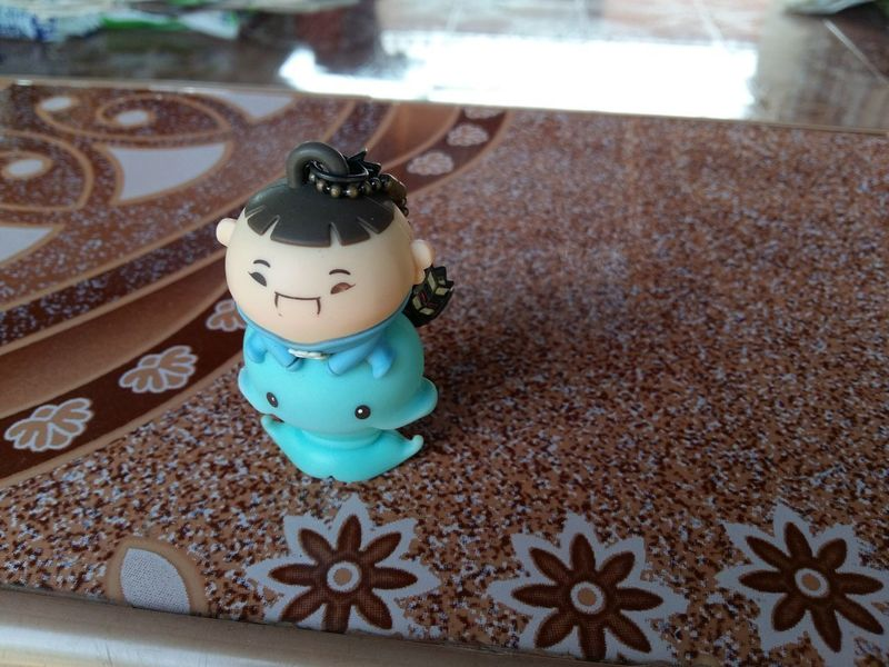 Hi. USB Flash Drive Art And Craft Close-up Creativity Day Design Focus On Foreground Food And Drink High Angle View Human Representation Indoors  No People Pattern Representation Small Smile Still Life Table Toy First Eyeem Photo
