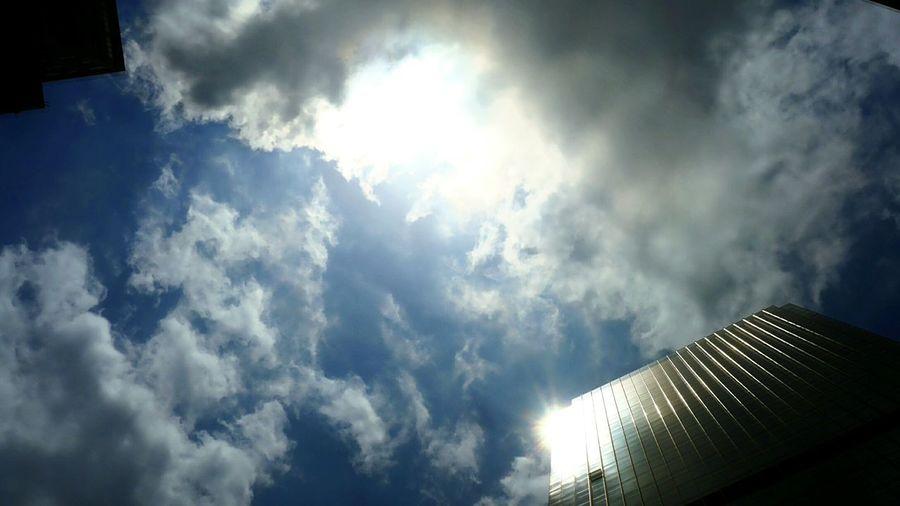 clouds. Hong