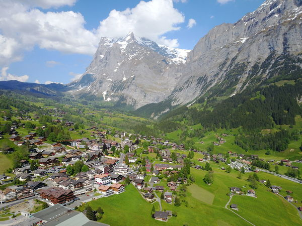 High Angle View Home Is Where The Art Is Home Is Where The Mountains Are! 🗻 ❄ Landscape Mountain Mountain Range Outdoors Sky Swiss Alps Swiss Mountains Switzerland