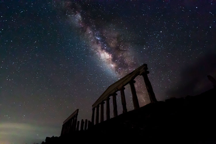 Milky over Fortune Island, Nasugbu Philippines. Astronomy Beauty In Nature Galaxy Milky Way Nature Night Outdoors Ruins Architecture Sky Star - Space Stars First Eyeem Photo The Week On EyeEm The Week On EyeEm Lost In The Landscape
