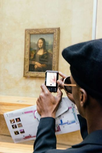 Mona Lisa Louvre Paris France Art Hanging Out Hello World